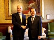越南与英国加强经贸与投资合作
