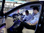 越南9座以下的原装汽车进口量增长37% 以上