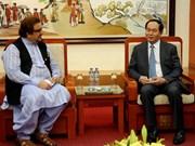 陈大光部长会见巴基斯坦驻越大使