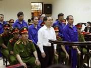 越南航海总公司贪污案:被告一律请求减轻处罚