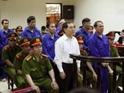 """越南航海总公司贪污案:被告人建议洗清""""贪污""""罪名"""