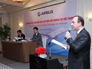 法国空中客车公司飞机零部件将在越南生产