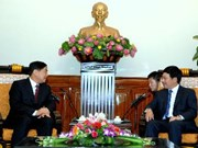 越南政府副总理范平明会见中国客人