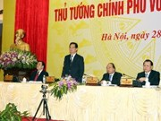 2014年越南政府总理与企业家会议在河内召开