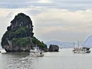 有关昔日下龙湾系列图片首次在越南公之于众