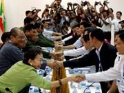 缅甸总统承诺实现国内和平
