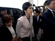泰国宪法法院解除其看守总理职务