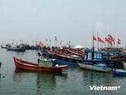 越南广义省渔民:坚持出海捕捞 维护祖国神圣主权