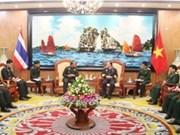 越南与泰国加强救灾合作