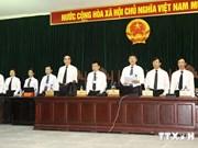 越南河内市人民法院初审开庭 公开审理阮德坚和同案嫌犯
