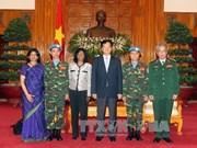 越南政府总理阮晋勇会见联合国副秘书长