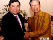 越南与老挝促进投资合作