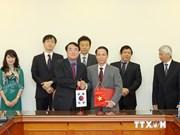 越通社与韩联社加强新闻领域合作