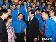 越南国家主席:青年队伍是国家的支柱