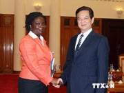 越南政府总理会见世行驻越南首席代表