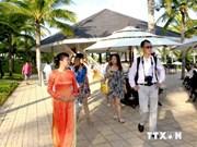 今年年初以来越南平顺省接待游客量猛增