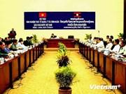 越南与老挝共同分享国家财政预算管理经验