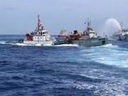 中国在东海问题上采取不顾一切的态度处事