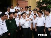 张晋创主席:党和国家一直为海上执法力量完成任务创造便利条件