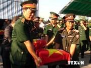 西宁省搜寻到在柬埔寨战场牺牲的143具烈士遗骸