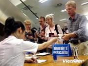 越南内排国际机场对来自中东人员实行健康申报制度