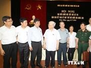 越南党总书记:越南坚持通过和平方式解决东海争端