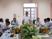黄忠海副总理视察平阳省环保和垃圾废物处理工作