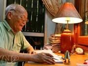 越南童话大师苏怀作家逝世享年95岁