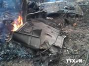 越南一架米171直升机遇难坠毁