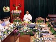阮春福副总理:扎实做好个人和组织在预防打击犯罪中的责任追究工作