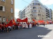 旅居海外越南人社群继续反对中国侵犯越南主权