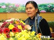 越南妇女联合会代表团访问瑞士