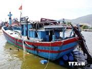 被中国扣留的13名越南渔民身体健康