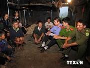 打击越老边界地带贩卖人口活动媒体战役正式启动