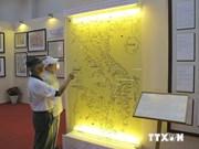 肯定越南对黄沙和长沙两个群岛拥有主权的地图资料展览