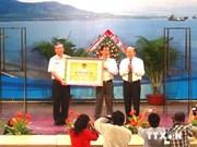庆和省长沙主权碑国家级历史遗迹证书颁发仪式在芽庄市举行