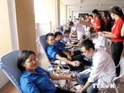 数千名岘港居民参加无偿献血活动
