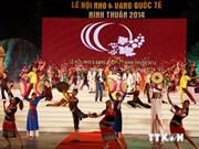 世界多国参加2014年越南宁顺国际葡萄与葡萄酒节