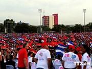 越南出席庆祝桑地诺革命胜利35周年的活动