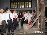国家主席张晋创与火炉监狱老政治犯进行会晤