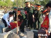 越南河南省接受在老挝牺牲的越南烈士遗骸
