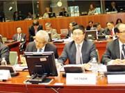 第20届东盟欧盟外长会议在布鲁塞尔举行