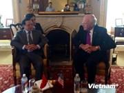 河内市市委书记范光毅访问美国