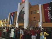 纪念古巴攻打蒙卡达兵营61周的年友好见面会在宣光省举行