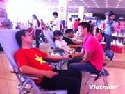 数千人积极参加2014年自愿无偿鲜血日