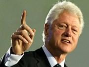 美国前总统克林顿指责中国东海政策