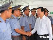 越南国家主席张晋创:将广宁省建成具有稳固的国防安全和积极参与国际合作的地区