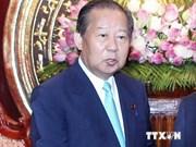 越共中央组织部部长苏辉瑞会见日越友好议员联盟主席