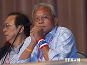 泰国反对派示威领袖素贴否认谋杀罪