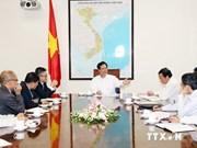 越南政府总理阮晋勇会见吴宝珠教授